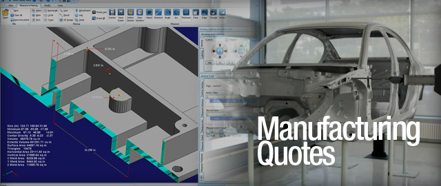 Manufacturing Quotes in CAD